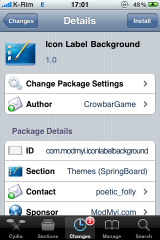 1 IMG 0239 160x240 Cydia   Icon Label Background : Ajouter un label aux applications