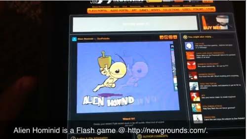 Capture d'écran 2010 07 04 à 12.37.46 News   Comex travaille toujours sur le flash pour iPhone [Vidéo]