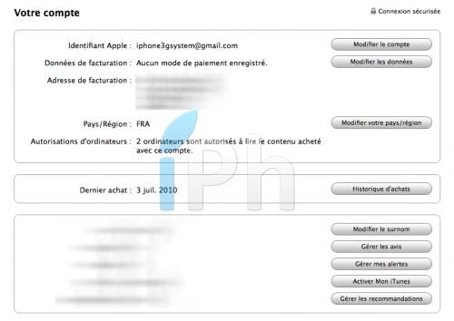 IMG  2010 07 04 à 22.40.10 500x354 Tutoriel   Protéger votre compte iTunes contre le hack