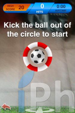 IMG 0397 250x375 Jeux   ARFootball : faites du football avec la réalité augmentée [Vidéo]