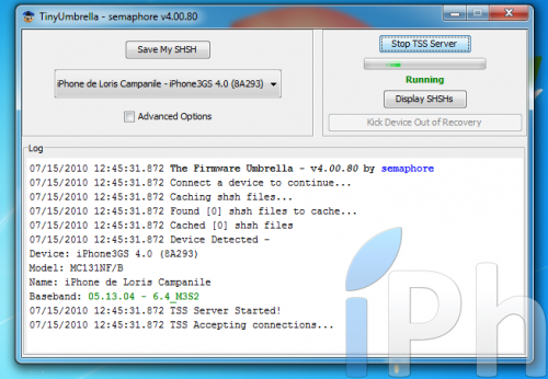 Screen 2010 07 15 à 12.45.36 500x346 Tutoriel   Sauvegarder votre ECID en 4.0 [Windows | Mac | Linux]