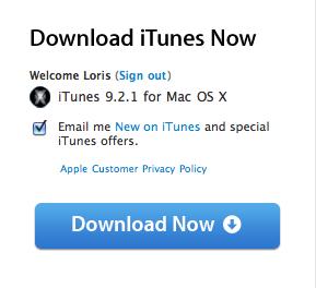 Screen 2010 07 19 à 23.02.07 News   iTunes 9.2.1 disponible au téléchargement