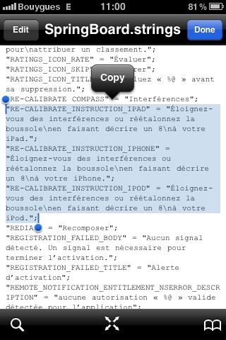boussolefirmware News   Le prochain iPod Touch et liPad seront équipés de lapplication Boussole