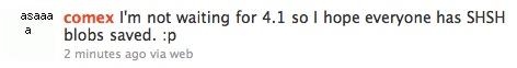 comex Jailbreak News    Spirit pour iOS 4 sera publié avant la sortie de liOS 4.1 [EDIT]