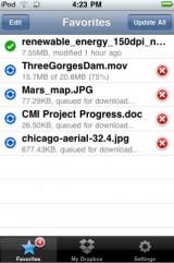 drop3 160x241 AppStore   DropBox 1.2.3 : Stocker vos fichiers en ligne gratuitement
