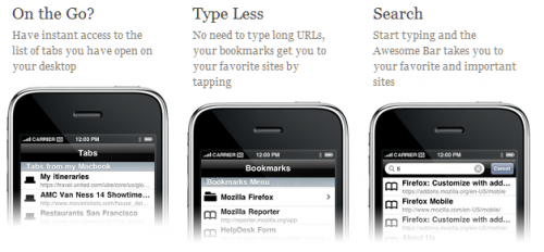 ffox 500x232 AppStore   FireFox Home : Enfin disponible sur lAppStore