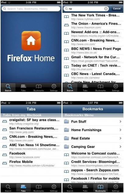 firefoxhome 1 AppStore   Mozilla soumet Firefox Home à lAppStore