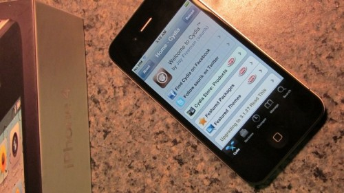 iphone4 500x281 Jailbreak   Geohot jailbreak liPhone 4