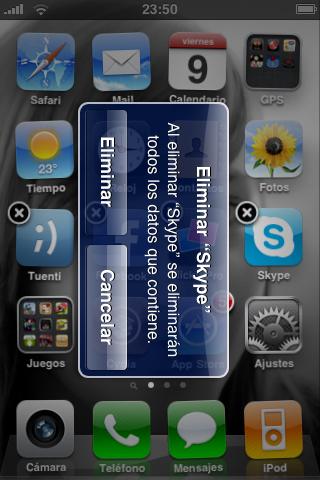 la foto5 News   Un bug de liPhone laisse penser à un mode paysage dans liOS 4