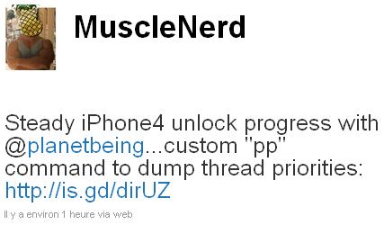 muscle1 Jailbreak News   MuscleNerd : Le désimlockage de liPhone 4 progresse encore et encore ...