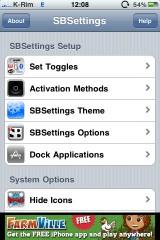 sbsettings 2 160x240 Cydia   SBSettings : Mise à jour en 3.1.0 1