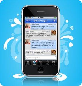 skype screen AppStore   Skype : MAJ Appels 3G gratuits et support du multitâche