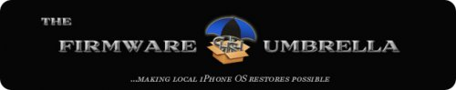 tinyumbrella Tutoriel   TinyUmbrella 03.13.83 : Sauvegarder son ECID iOS 4.0 / 4.0.1 [WINDOWS | MAC | LINUX]