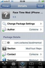 12 Cydia   FaceTime Mod : Améliorez la fluidité de FaceTime