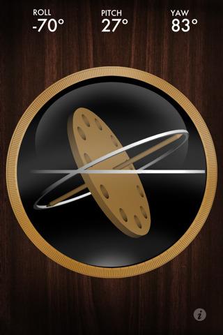 14 AppStore   Gyroscope : Lapplication qui vous permet de tester le gyroscope de liPhone 4