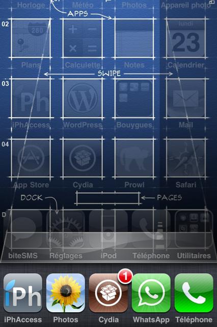 25 Cydia   Five Icon Switcher : Afficher 5 icônes dans le dock multitâche