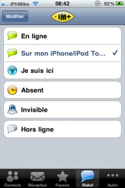 IMG 00055 250x375 AppStore – IM+ mis à jour en version 4.3