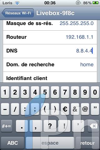 IMG 0422 Tutoriel   JailbreakMe iOS 4 iPhone 3G / 3GS / 4 iPod Touch 2G / 3G et iPad 3.2 / 3.2.1 par Comex [VIDEO][MAJ]