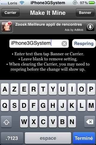 IMG 0470 Cydia   Mise à jour de MakeItMine : Personnalisez votre CARRIER
