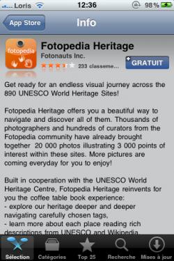 IMG 0647 250x375 AppStore   Lapplication de la semaine : Fotopedia Heritage