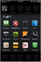 Shrink2 Cydia   Shrink : Réduisez la taille de vos icônes