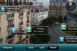 ici Info 04 250x166 AppStore   Ici Info : Linformation en réalité augmentée par Bouygues Telecom