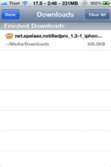 img0744 160x240 Tutoriel   Comment avoir Safari Download Manager 1.5 1 pour iOS 4 cracké [EDIT : Dispo sur notre repo]