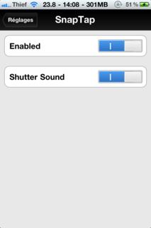 img0801 Cydia   Ajout de SnapTap 1.1.1 sur notre repository