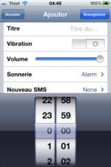 img0973 160x240 Cydia   Présentation de iScheduler 1.1 en version crackée pour iOS 4