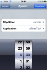img0974 160x240 Cydia   Présentation de iScheduler 1.1 en version crackée pour iOS 4