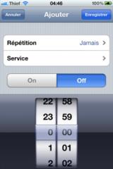 img0975 160x240 Cydia   Présentation de iScheduler 1.1 en version crackée pour iOS 4