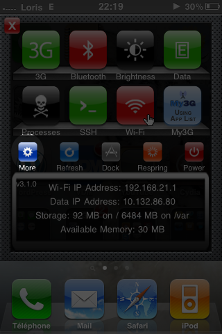 img1 Tutoriel   Comment avoir une icône HD diPhAccess sur son iPhone 4