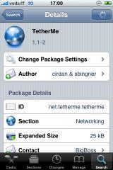 img 00311 Cydia   TetherMe : activez le modem 3G sur votre iPhone