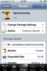 img 0343 Cydia   Synchronicity : Utilisez votre appareil pendant la synchronisation ! [Vidéo]