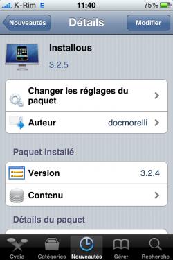 installous1 250x375 Cydia   Installous : mise à jour en version 3.2.5