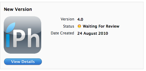 iphaccess AppStore   iPhAccess 4.0 : En cours de validation par Apple [In Review]