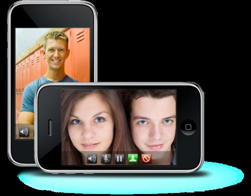 iphone billboard 500x391 Cydia   iMoviCha : Chat vidéo entre iPhone, PC, MAC, Android ...