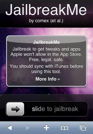 Tutoriel   Résoudre les problèmes de connexion au site JailbreakMe