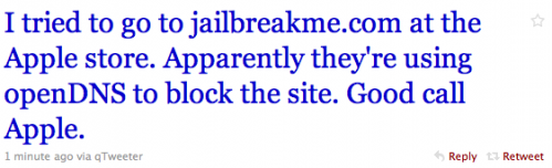 jailbreakme2 Jailbreak News   Apple bloque JailbreakMe dans les Apple Store