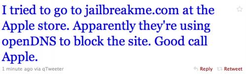 jailbreakme2 Jailbreak News   Apple bloque JailbreakMe dans les Apple Store