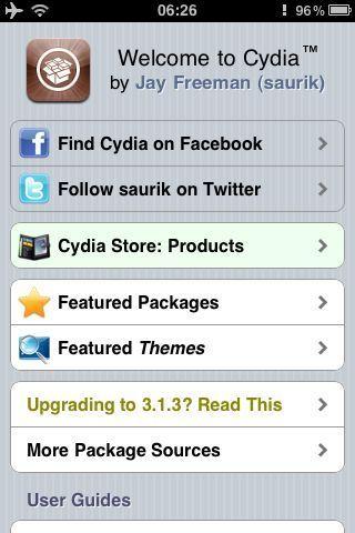 News   Cydia et Installous disponible sur AppMkt mais inutile