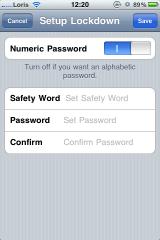 photo 12 160x240 Cydia   LockDown Pro : protégez vos applications avec un mot de passe