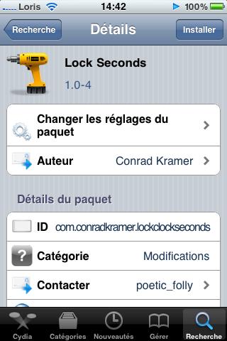 photo 19 Cydia   Lock Seconds : affichez le nombre de secondes sur le LockScreen