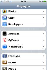 photo 33 160x240 Cydia   LIB Activator MAJ en version 1.4.2, règle le bug du lockscreen