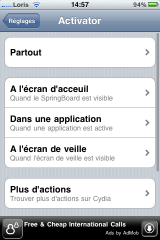 photo 42 160x240 Cydia   LIB Activator MAJ en version 1.4.2, règle le bug du lockscreen