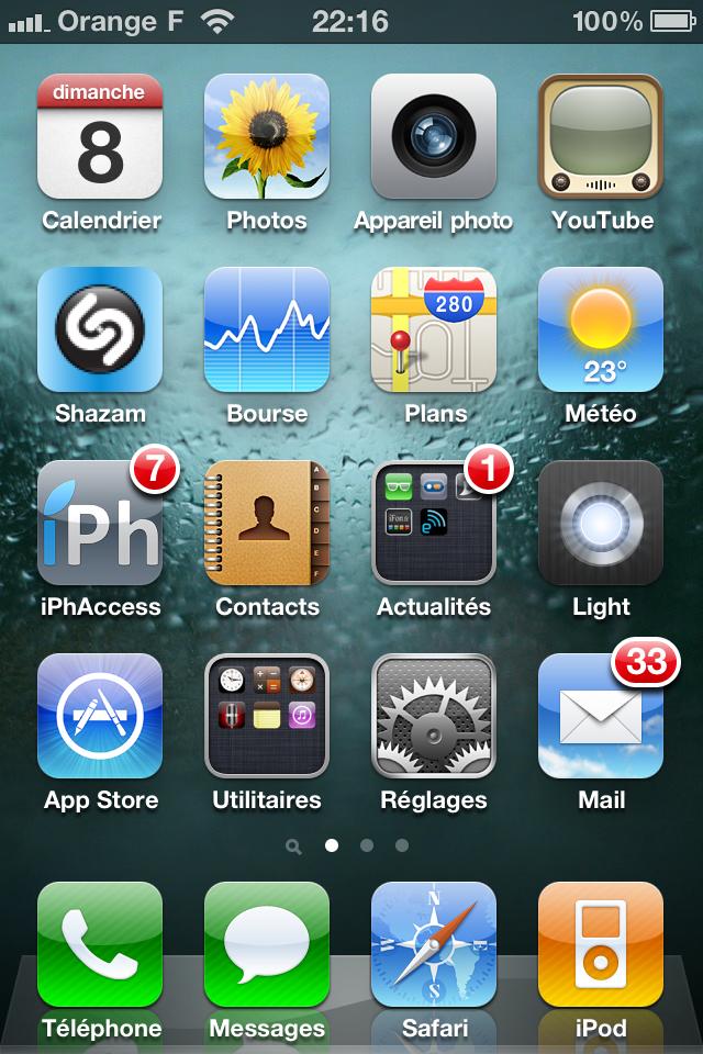comment avoir un iphone 4