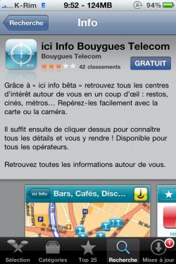 photo13 250x375 AppStore   Ici Info : Linformation en réalité augmentée par Bouygues Telecom