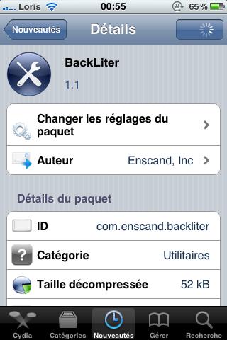 photo20 Cydia   BlackLiter 1.1 : Gérez la luminosité de votre appareil de façon avancée [Vidéo]