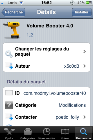 photo25 Cydia   Volume Booster 4.0 passe à la version 1.2