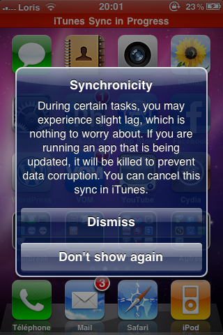 photo26 Cydia   Ajout de Synchronicity version crackée sur notre repository [EDIT]